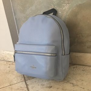 Coach Bags - Coach F30550 Medium Charlie Backpack Steel Blue